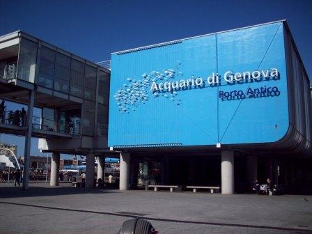 Nelle vicinanze del B&B l'Acquario di Genova